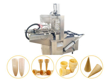 automatic wafer ice cream machine for sale
