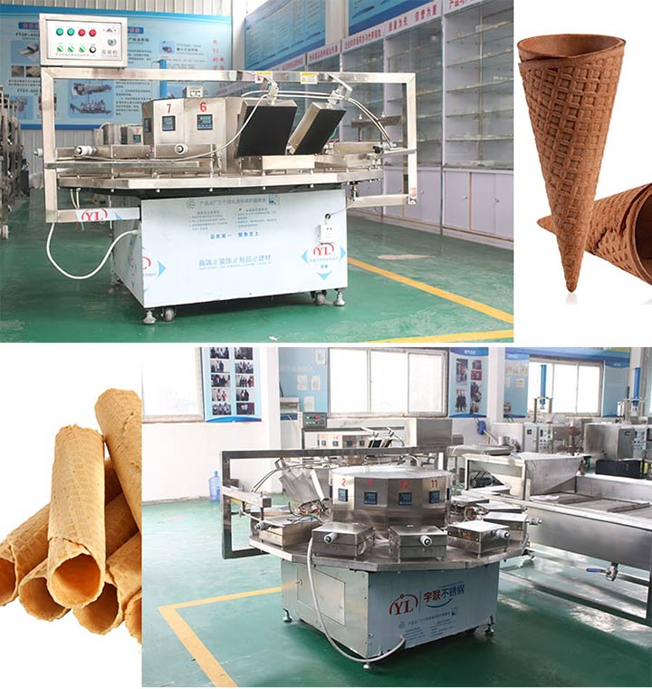 electric egg roll making machine