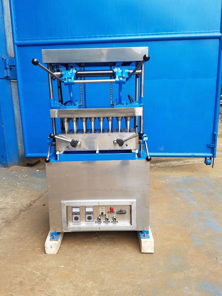 newly manufactured small cake cone machine