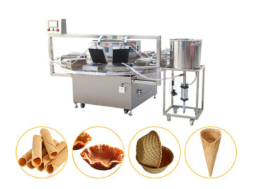 semi-automatic crisp ice cream cone making machine for sale