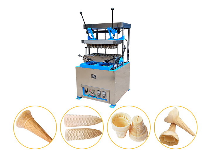 semi-automatic wafer ice cream cone machine fro sale