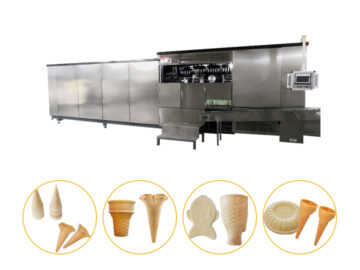 wafer ice cream cone production line