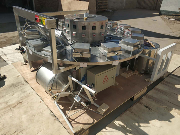 whole set of ice cream machines for shipping