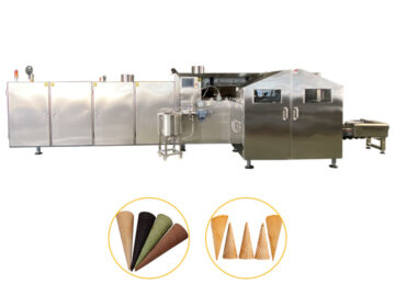 continuous sugar cones production line