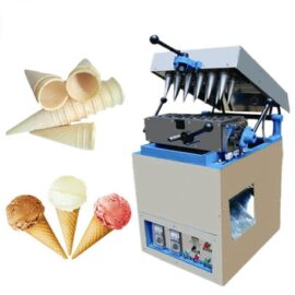sweet wafer cone maker machine for sale