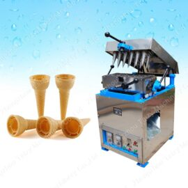 commercial wafer cone making machine