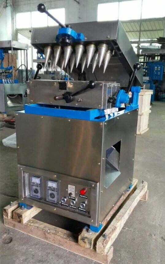 small wafer cone machine shipped to Ethiopia